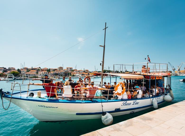 Full Day Boat Trip to Blue Lagoon, Island Šolta, Čiovo and Trogir from Split and Trogir