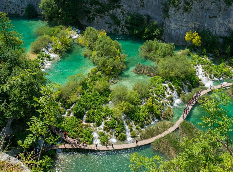 Full Day Tour to Plitvice Lakes from Zagreb