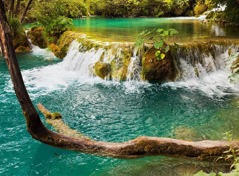 Krka Waterfalls from Trogir and Okrug Gornji with small groups