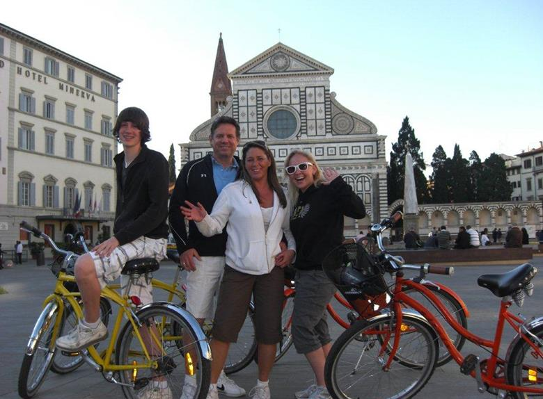 Florence Bike Tour from Pisa