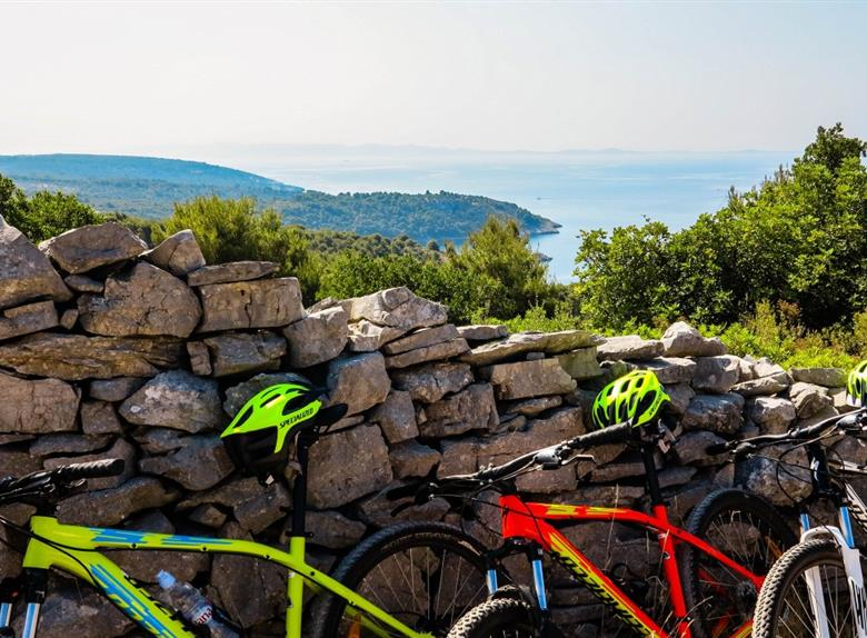Guided 5-Hour Bike Tour on Šolta Island
