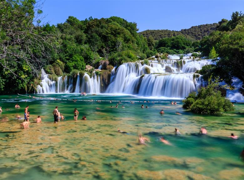 how to get to krka national park from split