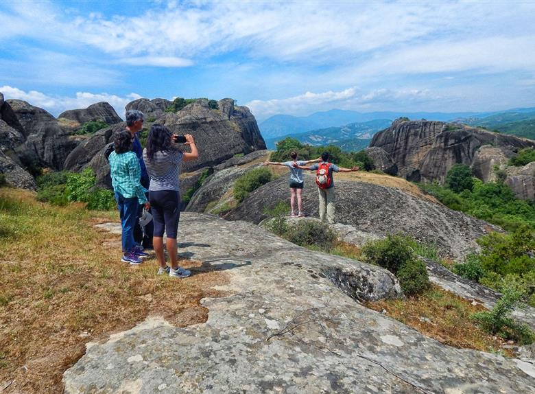 Half Day Hiking Meteora Tour From Kalabaka