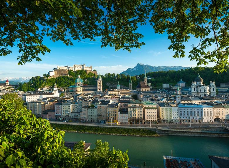 Hop on Hop off City Tour from Salzburg
