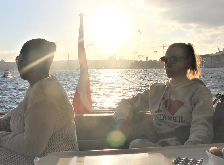 Sunset Cruise on the Bosphorus in Istanbul