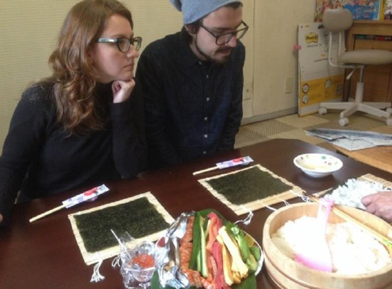 Japanese Culture Experience Origami Calligraphy And Cooking Class