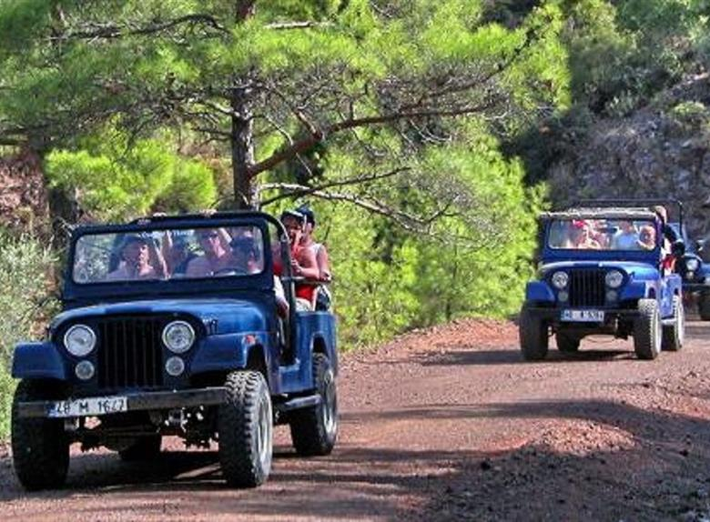 Jeep Safari u Bodrumu