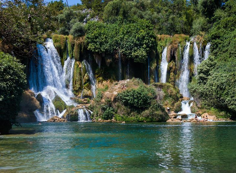 Mostar i Kravice Waterfalls Group Tour z Dubrownika