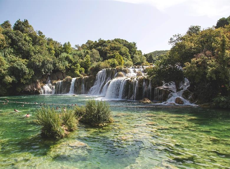 Krka waterfalls from Split (currently on sale​)