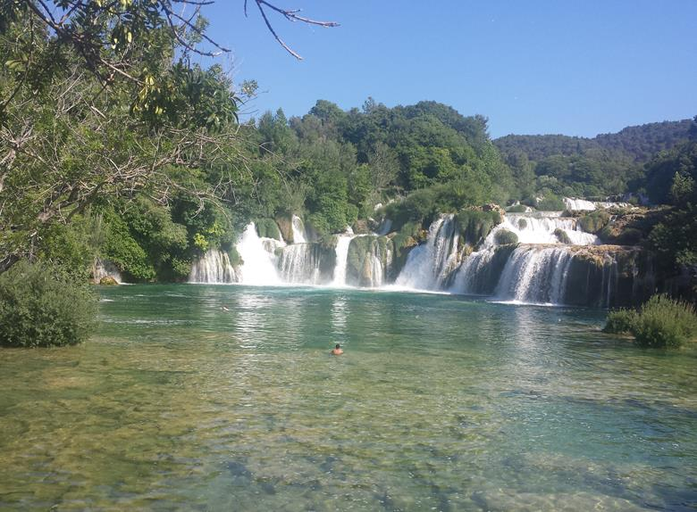 Krka National Park and Trogir Sightseeing Tour from Split