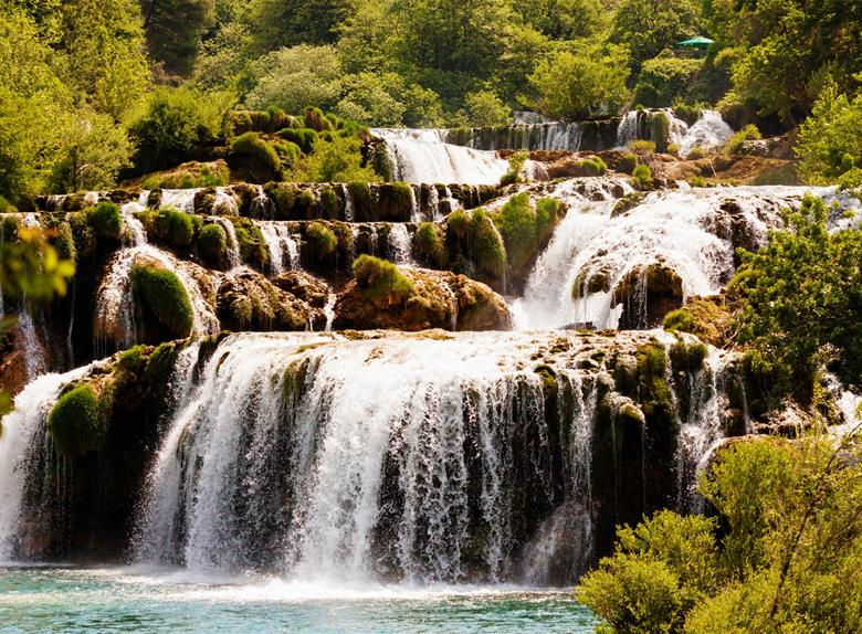 Experience Krka Waterfalls and Old town Šibenik from Zadar