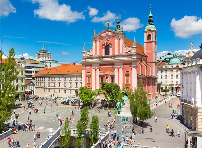 Full day Tour to Ljubljana and Postojna Cave from Zagreb