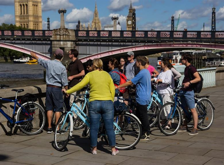 View Top Sights of London in Bike Tour