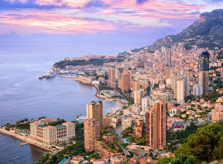 Principality of Monaco Sightseeing Bus Tour from Nice