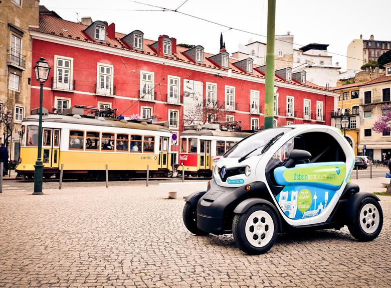 Moorish Tour Lisbon in an Electric Car with GPS Audio Guide