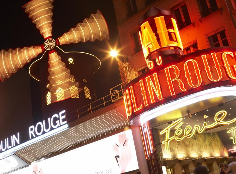 Moulin Rouge Cabaret Show and Dinner in Paris
