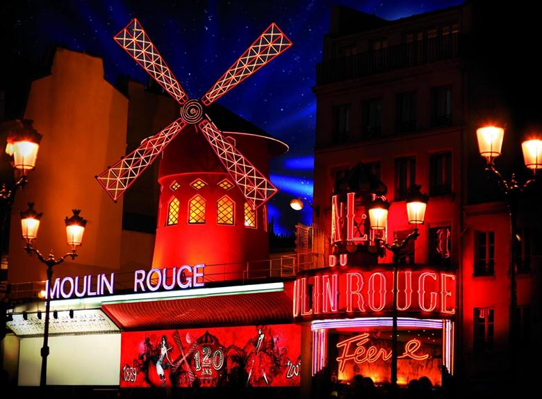 Paris Moulin Rouge Show - 9pm