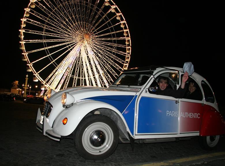 Night Tour: Special Paris by Citroen 2CV