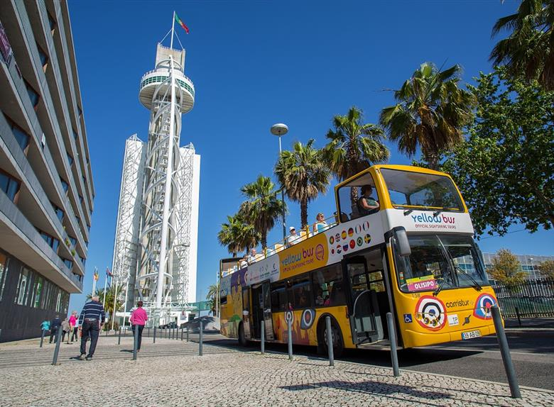 Olisipo: Hop-On Hop-Off Bus Tour (24 hours) in Lisbon