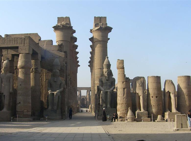East Bank of the Nile: Karnak and Luxor