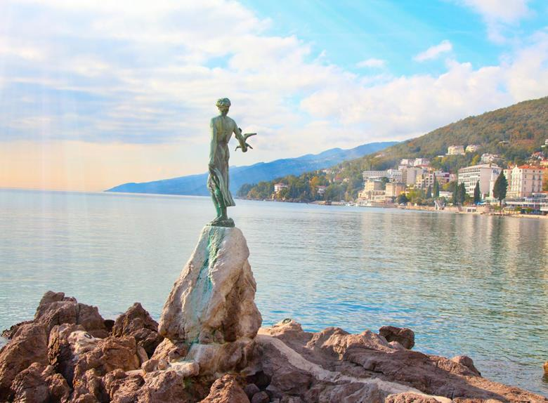 Kvarner Tour Opatija and Moscenice from Porec