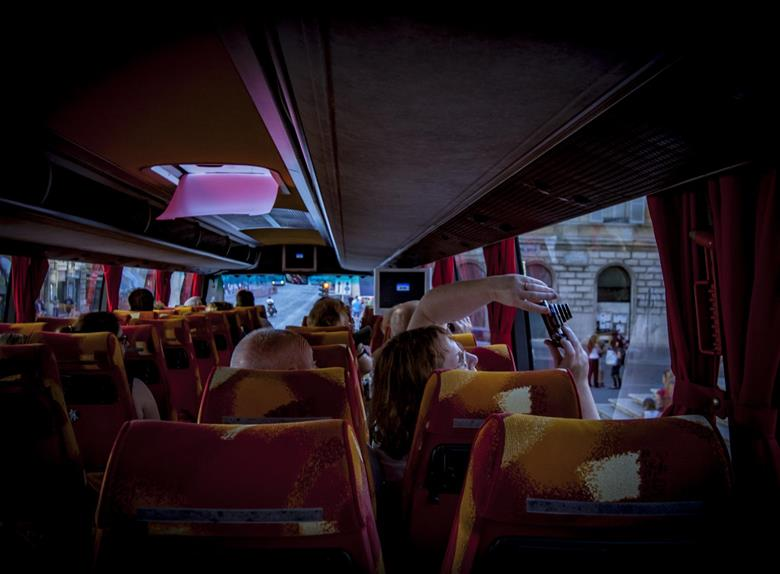 Explore Rome by taking a Bus