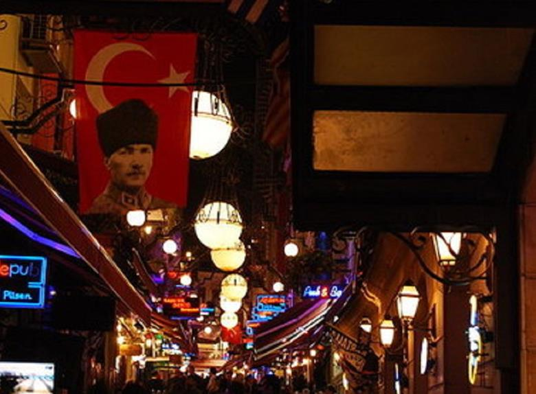 Pera at Night - Culinary Walking Tour in Istanbul