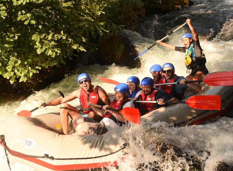 Pirate Rafting on River Cetina plus Cavingfrom Split or Omiš