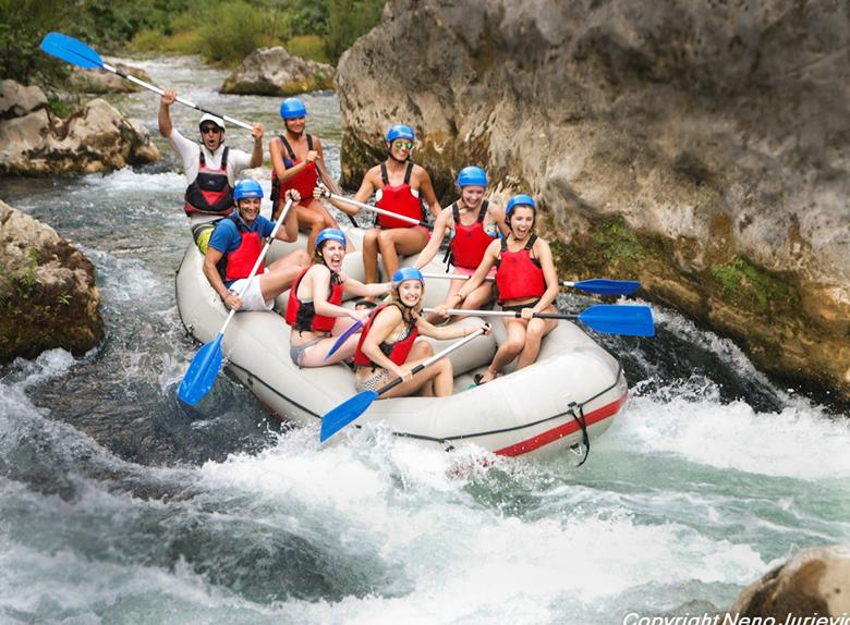 Pirate Rafting on River Cetina from Split or Omiš