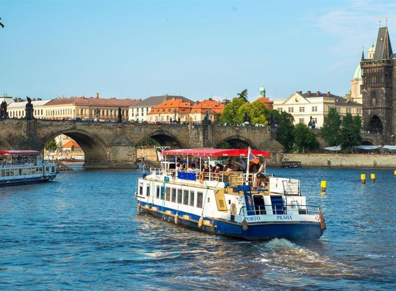 Take a river Cruise on the Vltava River