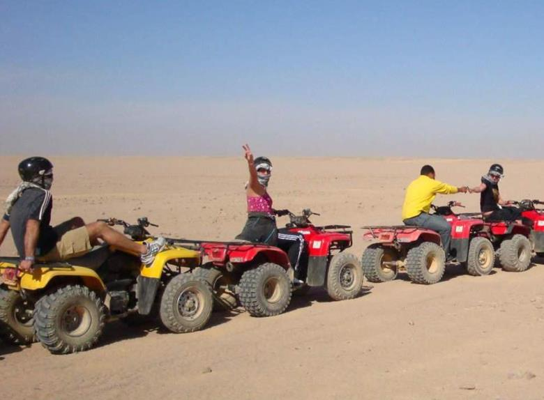 Dahab Quad Biking: 3 hours Blue Hole + Snorkeling