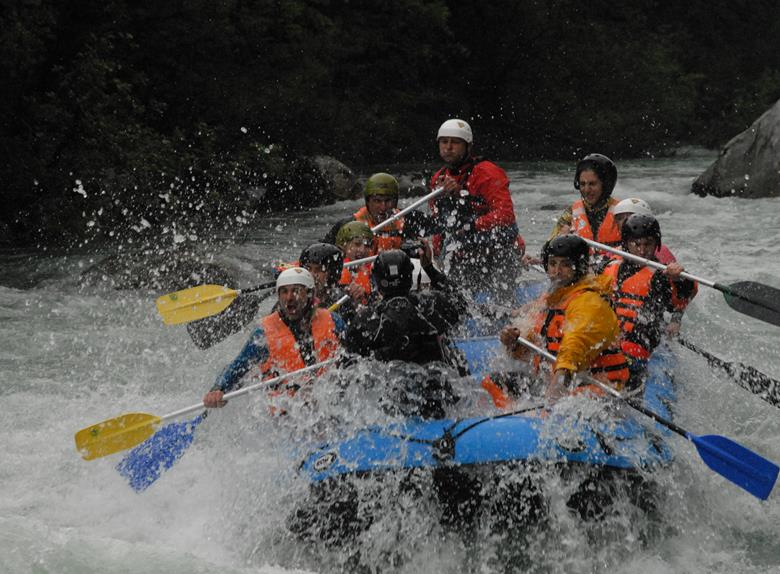 Rafting on Tara River in Foca