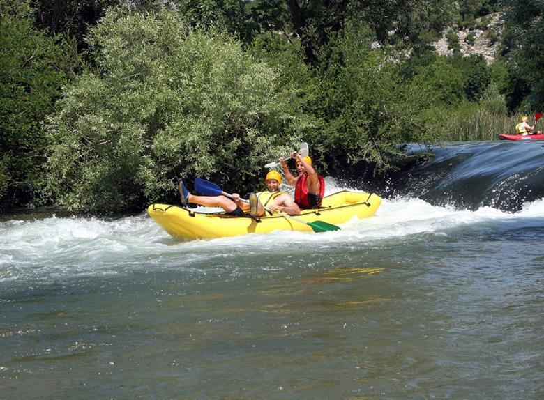 Experience Rafting on River Cetina from Split