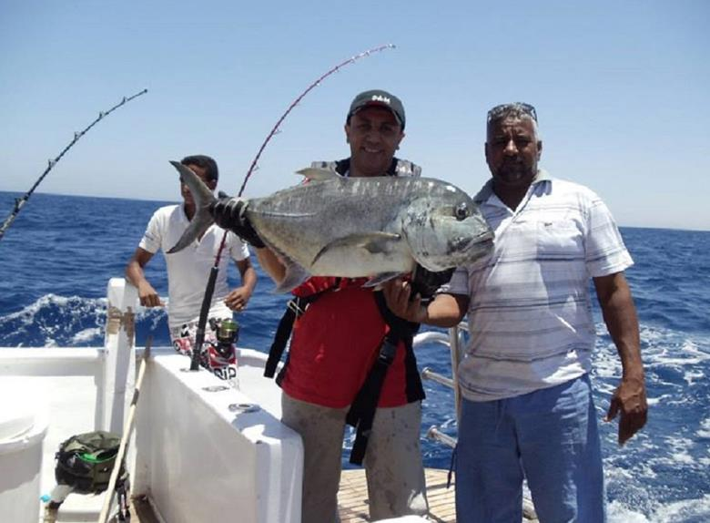 Red sea fishing tour from hurghada hurghada for Red sea fish