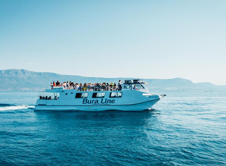 "Rent ""Bura Line"" Boat - Private Daily Rent from Split and Trogir (for up to 100 People)"