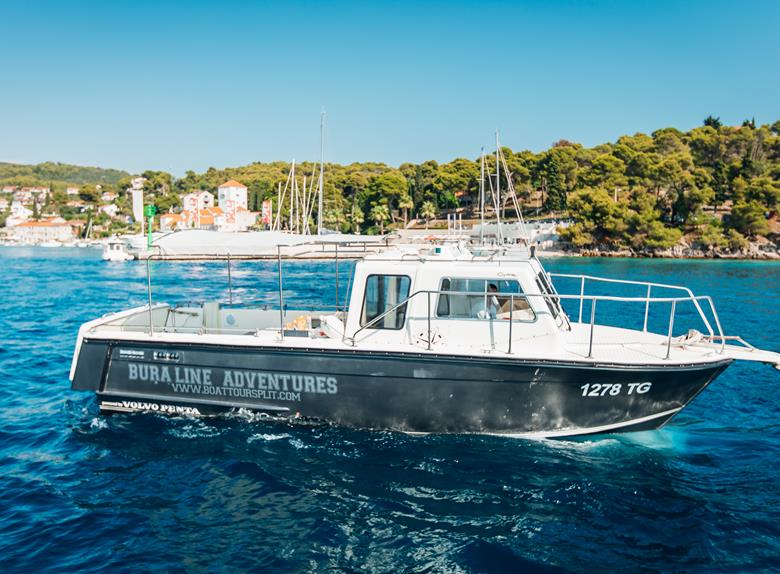 "Rent ""Cytra"" Boat - Private Daily Rent from Split and Trogir (for up to 13 People)"