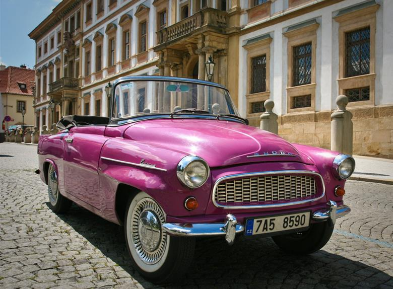 Explore Prague in a Vintage Car
