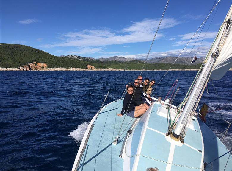 Full Day Active Sailing Experience on a Yacht in Dubrovnik