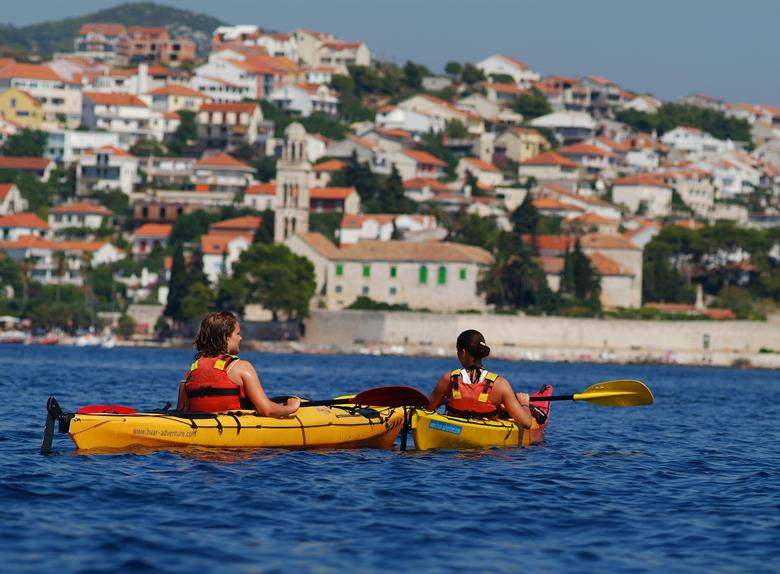 Enjoy Sea Kayaking tour from Hvar