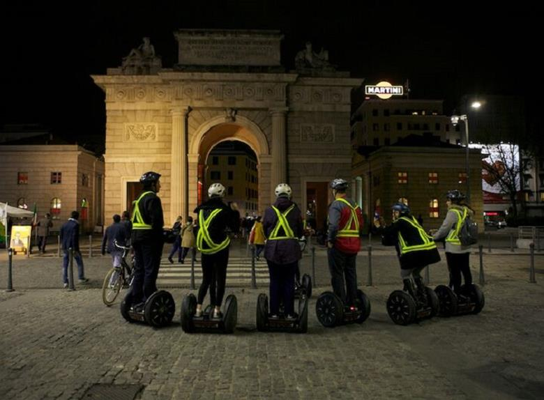 Enjoy Segway Night Tour in Milan