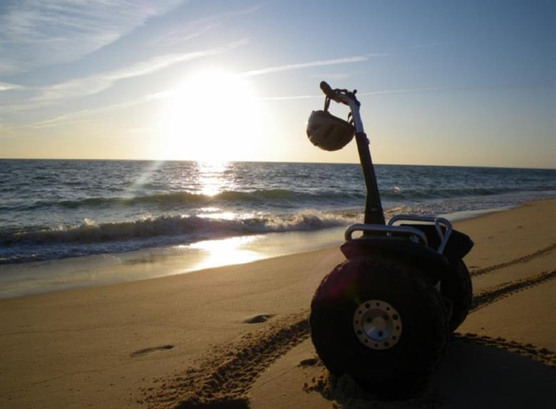 Segway Tour Faro Island from Algarve