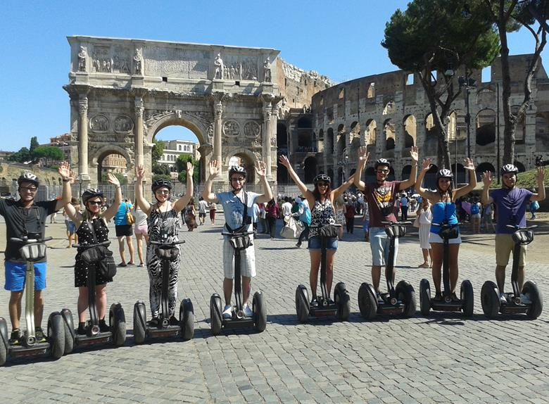 Explore Rome by Segway
