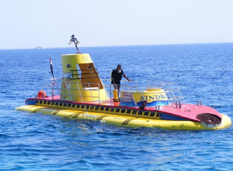 Semi Submarine Excursion in Sharm El Shiekh
