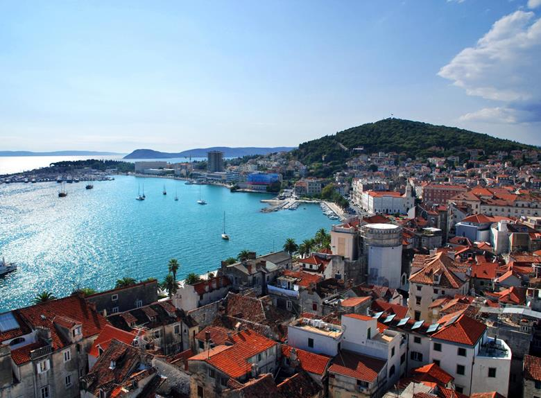 Explore the cities Split and Trogir