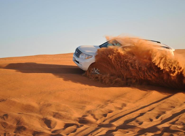 Standard Desert Safari with 4x4 & BBQ Dinner from Abu Dhabi