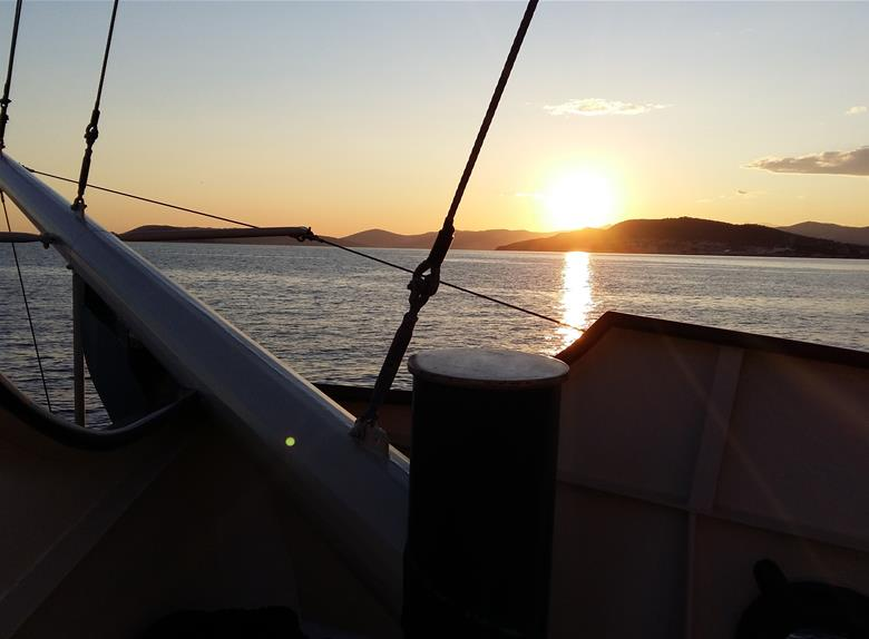 Sunset Boat Cruise from Split