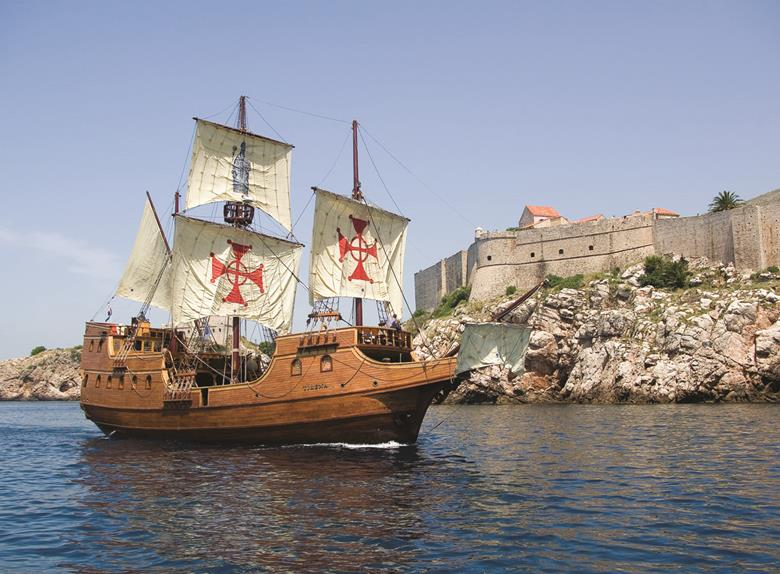 Galleon Tirena Elaphite Cruise Tour from Dubrovnik