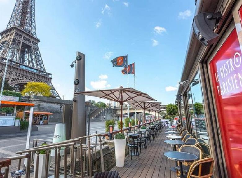 "Tasty Lunch in ""Le Bistro Parisiens"" + Cruise Tour Ticket"