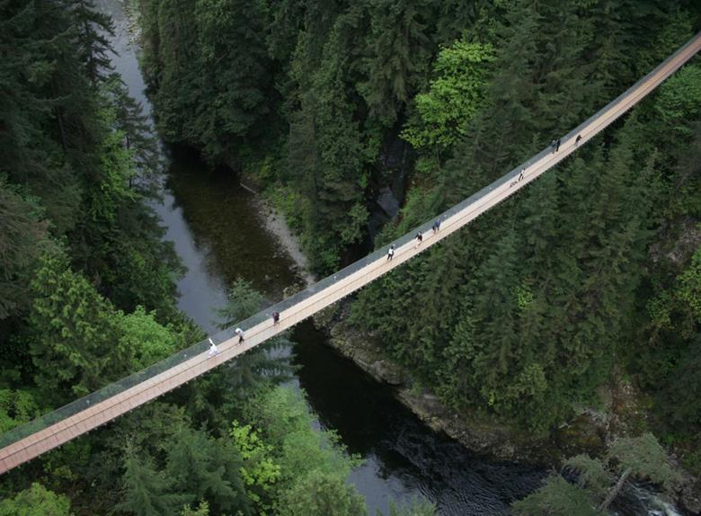 Vancouver City and Capilano Suspension Bridge Park Tour