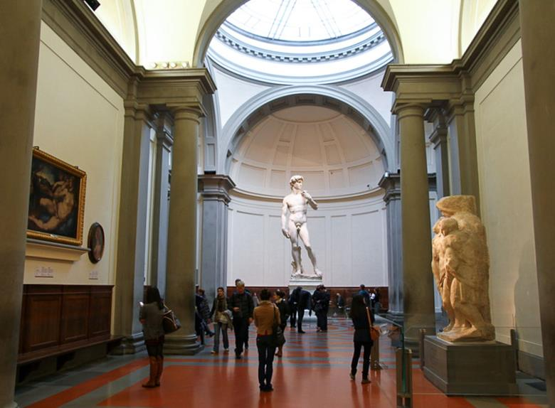 With Accademia Gallery visit included